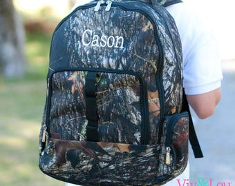 Personalized Camo Woods Backpack | Camouflage Backpack | Boys Camo Backpack | School Backpack | Hunting Backpack | Unisex Backpack