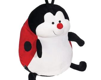 Big Sister Stuffed Lady Bug   Flower Girl   Personalized Lady Bug   Baby Shower Gift   Birthday Gift   Adoption Day Gift