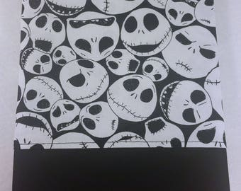 STANDARD Personalized Pillow Case made with Nightmare Before Christmas Fabric | Jack Skellington | Teen Bedroom Decor