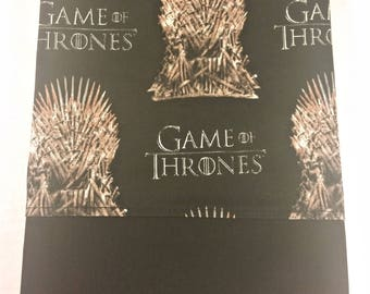 STANDARD Personalized Pillow Case made with Game of Thrones Fabric