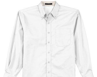 Monogrammed Oxford Shirt | Bridal Party | Girls Weekend | Work Wear