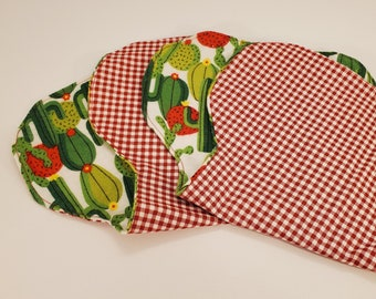 Over the Shoulder Burp Cloth | Kidney Shape Burp Cloth
