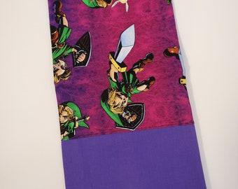 Standard Size Pillow Case   Zelda Themed   100% Cotton