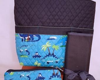 Personalized Diaper Bag | Personalized Diaper Bag | Dinosaur Diaper Bag | New Baby Gift | Baby Shower Gift
