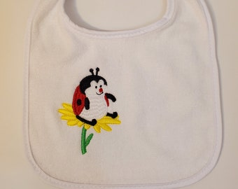 Personalized Baby Bib | Baby Shower Gift | Terry Cloth Bib