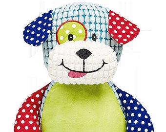 Big Brother | Big Sister Stuffed Dog | Ring Bearer | Flower Girl Gift |  | Baby Shower Gift | Stuffed Dog Cubby | Adoption Day Gift
