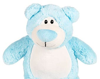 Big Brother Stuffed Blue Bear | Ring Bearer Gift | New Baby Gift | Baby Shower Gift | Baby Brother | Little Brother | Adoption Day Gift