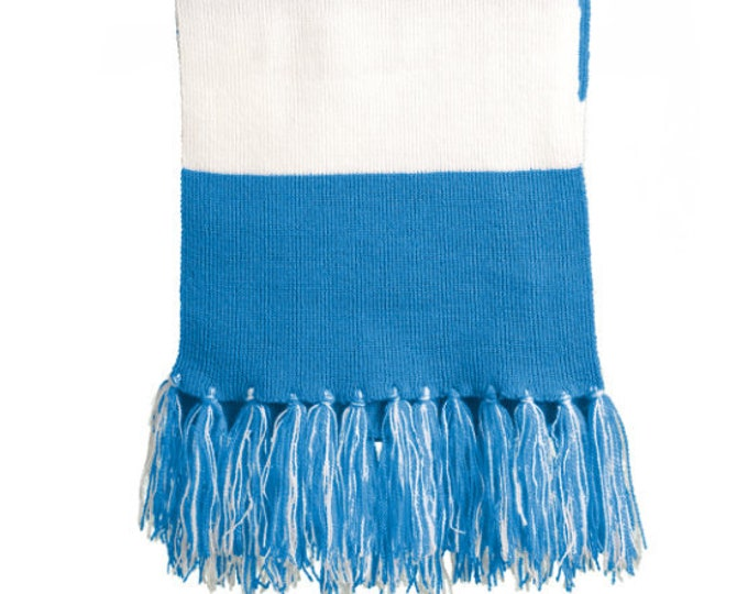 Featured listing image: Monogrammed Scarf | College Team Scarf | Bridesmaid Gift | Maid of Honor |