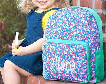 Personalized PRE SCHOOL Confetti Pop Backpack | Toddler Backpack | Backpack Personalized | Carry on Travel Bag