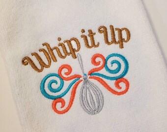 Embroidered Towel   Kitchen Towel   Bar Towel