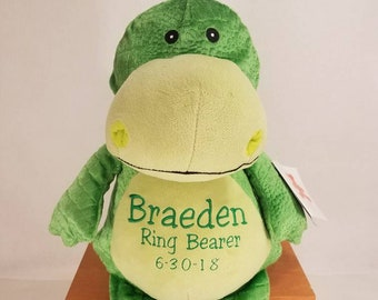 Big Brother Stuffed Animal | Ring Bearer Gift | Personalized Dinosaur | Baby Shower Gift | Adoption Day Gift