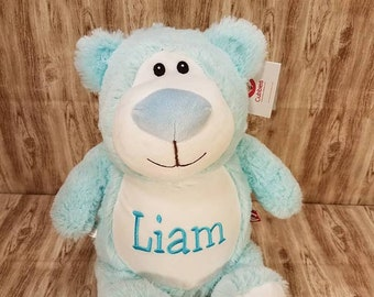 Personalized Stuffed Animal | Valentine Gift | Big Brother | Big Sister | Ring Bearer | Flower Girl | Baby Shower Gift | Adoption Day Gift