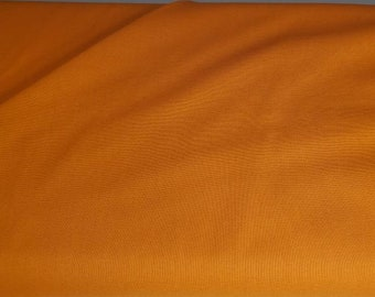 Cotton Fabric Solid Orange | 100% Cotton | Quilting Strips | Fabric for Mask | Quilting Fabric