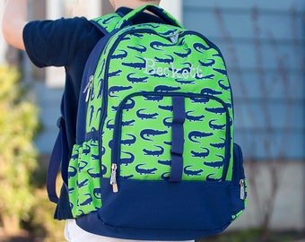 Personalized Later Gator Book Bag | Back Pack Personalized | Carry on Travel Bag | Laptop Bag | Boys Backpack
