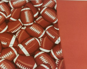 Football Themed STANDARD Personalized Pillow Case