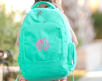 Personalized Backpack | Personalized Backpack | Mint Backpack