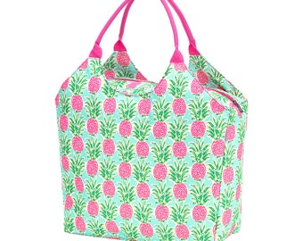 Personalized Beach Bag | Sweet Paradise Pineapple Beach Bag | Large Beach Bag | Bridesmaid Gift | Graduation Gift