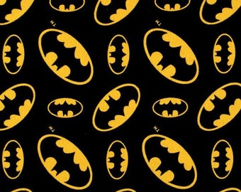 STANDARD Personalized Pillow Case made with Batman Fabric