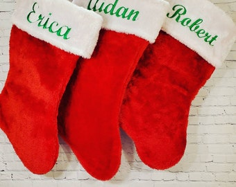 """16"""" Personalized Christmas Stocking 