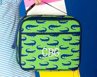 Monogrammed Later Gator Lunch Cooler | Personalized Lunchbox