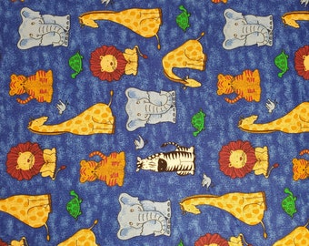 Cotton Fabric | 100% Cotton | Fabric for Mask | Noahs Ark