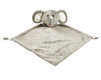 Elephant Baby Lovey | | New Baby Gift Idea | Stocking Stuffer | Adoption Day Gift