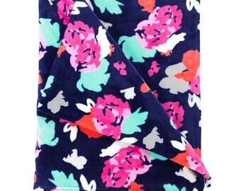 Personalized Plush Blanket | Monogrammed Blanket | Amelia Blanket | Personalized Blanket | Tween Gift | Dorm Bedding