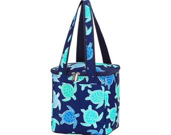 Personalized Beach Cooler | Myrtle Turtle Cooler Bag | Large Cooler Bag | Bridesmaid Gift | Graduation Gift | Realtor Gift