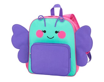 Personalized Backpack | Personalized PRE SCHOOL Backpack| Butterfly Backpack