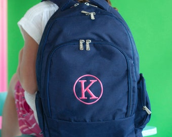 Personalized Backpack | Personalized Backpack | Navy Backpack