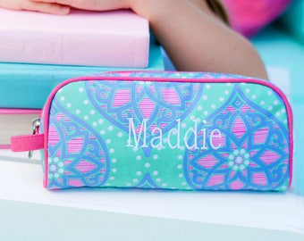 Monogrammed Pencil Pouch | Marlee Pencil Pouch | Personalized Pencil Pouch