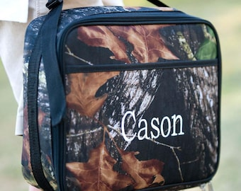 Personalized Camouflage Woods Lunchbox | Personalized Lunchbox