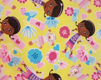 Doc McStuffins Crib Sheet / Toddler Bed Sheet