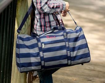 Personalized Duffel Bag | Boys Travel Bag | Grayson Duffel | Personalized Travel Bag | Overnight Bag for Him | Dog Show Bag