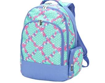 Personalized Backpack | Penelope Backpack | Girls Backpack | School Backpack | Monogrammed Book Bag
