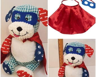 Teddy Bear Outfit   Costume for Teddy Bear   Super Hero   Fire Fighter   Bridal Veil   Groom Bow Tie   Graduation Gown   Hoodie