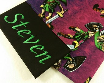 STANDARD Personalized Pillow Case made with Zelda - Majora's Mask fabric