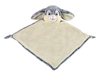 Rabbit Lovey | New Baby Gift Idea | Easter Baby Gift | Animal Blanket | Security Blanket | Adoption Day Gift
