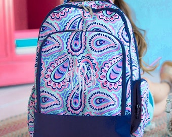 Personalized Backpack   Sophie Backpack   Girls Backpack   School Backpack   Monogrammed Book Bag