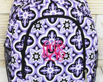 Personalized Backpack | Personalized Backpack | Back to School | Backpack for Girl | Floral Serenity Backpack
