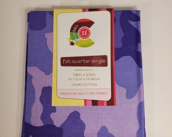 2 Cotton Fat Quarters | 100% Cotton | Fabric for Mask