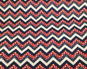 Cotton Fabric | 100% Cotton | Patriotic Print Fabric| Fabric for Mask