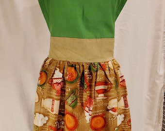Ladies Apron | One Size | Fall Print