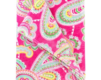 Personalized Plush Blanket | Monogrammed Blanket | Lizzy Blanket | Personalized Blanket | Tween Gift | Dorm Bedding