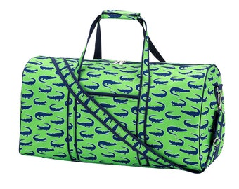 Personalized Duffel Bag | Duffel Bag for Boys | Later Gator | Travel Carry on Bag | Ring Bearer Gift | Gift for Him