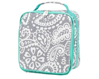 Personalized Parker Paisley Lunchbox | Personalized Lunchbox