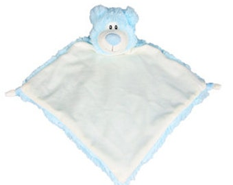 "13"" Blue Bear Lovey 