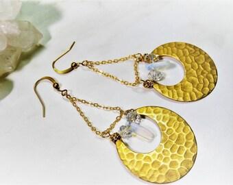 raw brass jewelry