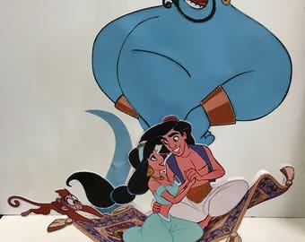 Centerpices/Party/Aladdin and Jasmin