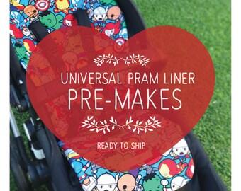 PRE-MADE Universal Pram Liners - Ready to Ship!